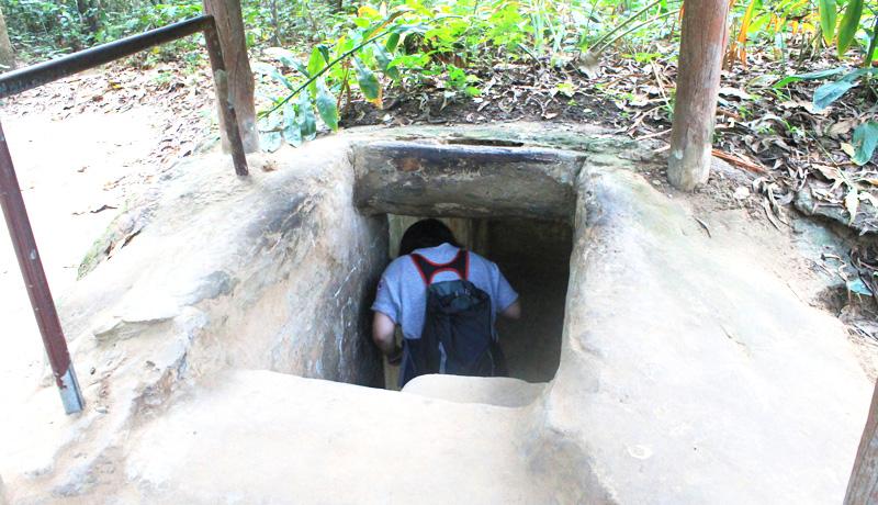 クチトンネルツアー参加