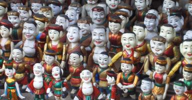 ハノイ水上人形劇(伝統芸術)