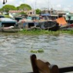 カイベー水上マーケットの旅 in ベトナム