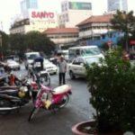 ベンタイン市場前の交通事情