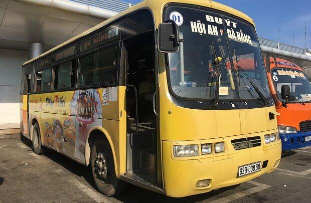 ダナンからホイアンのローカルバス