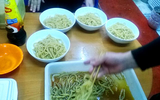 カオラウ麺 つけ麺
