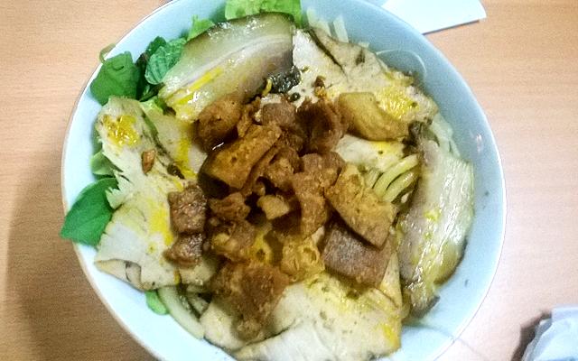 カオラウ麺 トッピング