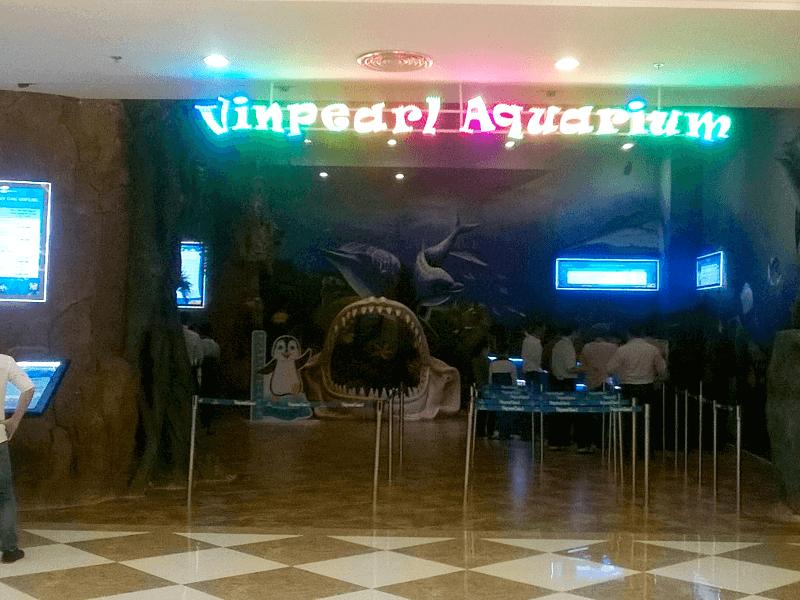 ヴィンパール水族館(Vinpearl Aquarium)入り口