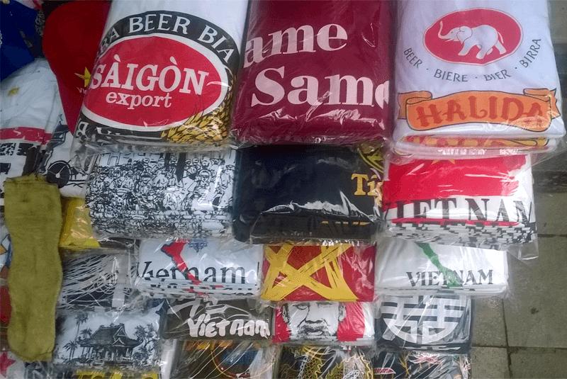 ベトナム Tシャツ屋さん