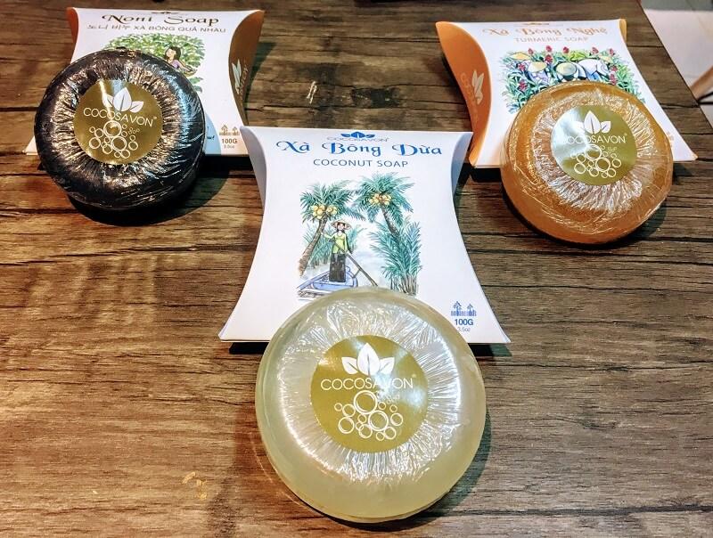 ベトナムホーチミンさんのココナッツ石鹸