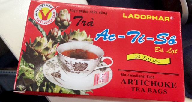 勧めされたお茶