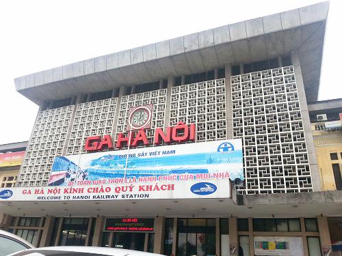 ベトナム鉄道 ハノイ駅