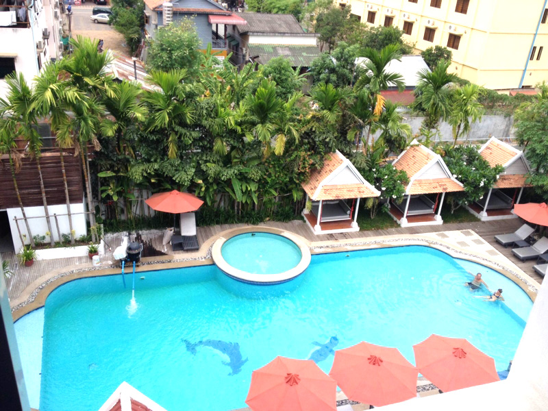 Memoire d'Angkor Boutique Hotelのプール