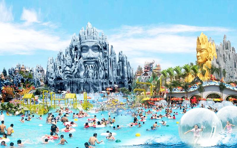 世界有名テーマパーク12選に選ばれたテーマパーク スイティエン公園