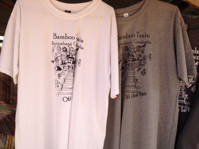 バンブートレインTシャツ