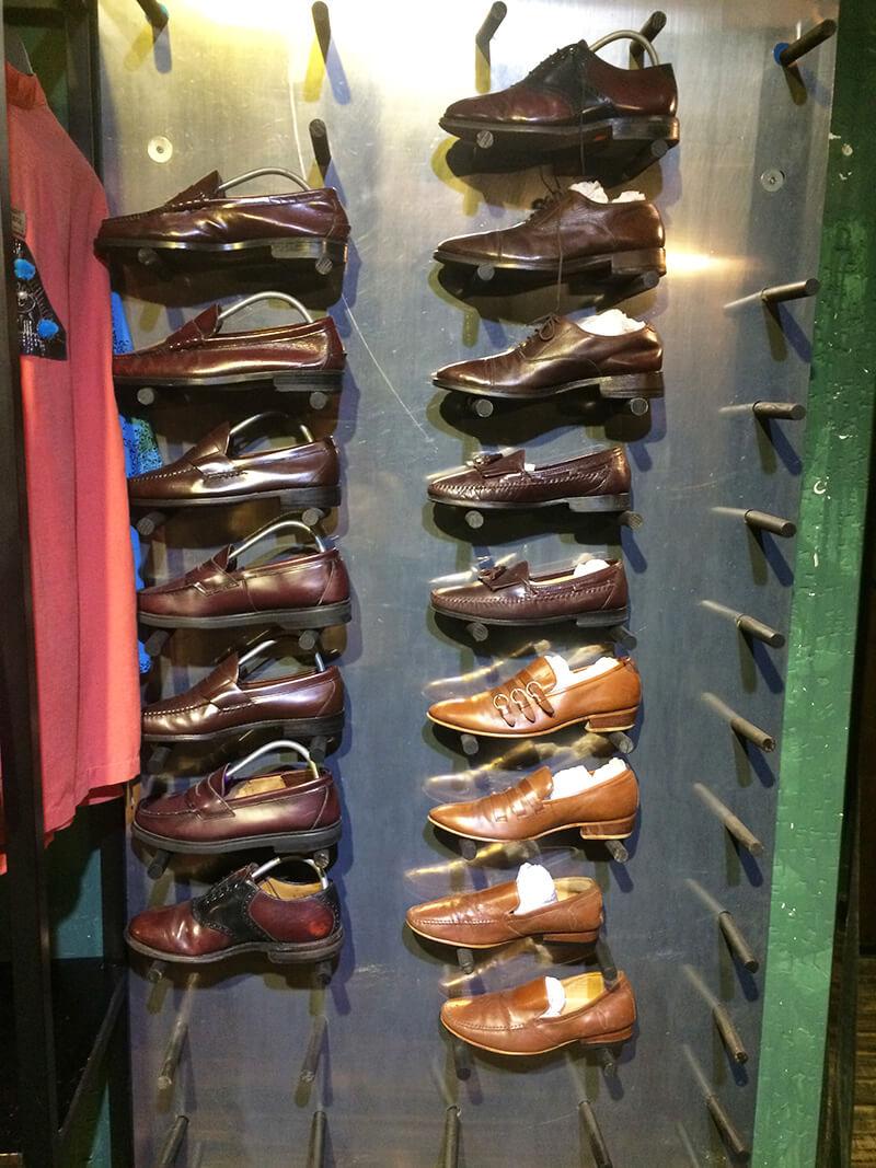 メイヘムサイゴン 革靴