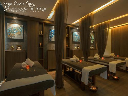 Urban Oasis Spa -Massage Room