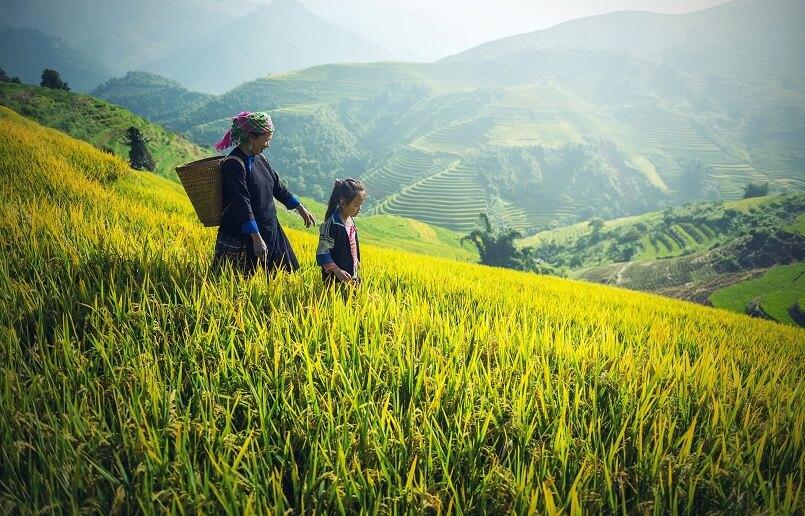 ベトナム北部の秘境サパ