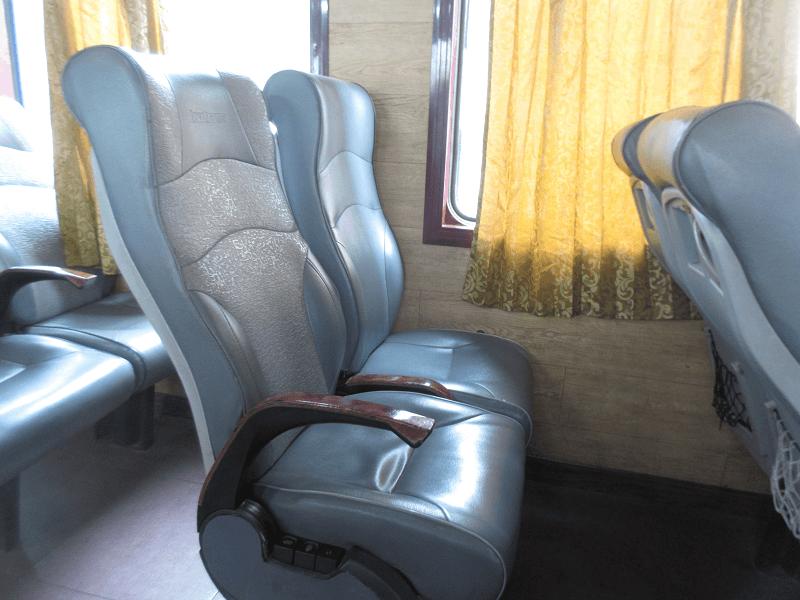 ベトナム列車シート