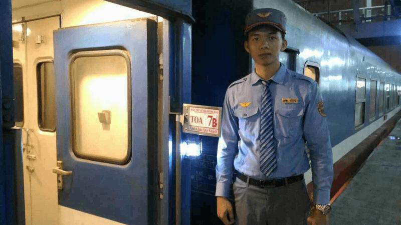 ベトナムの夜行列車
