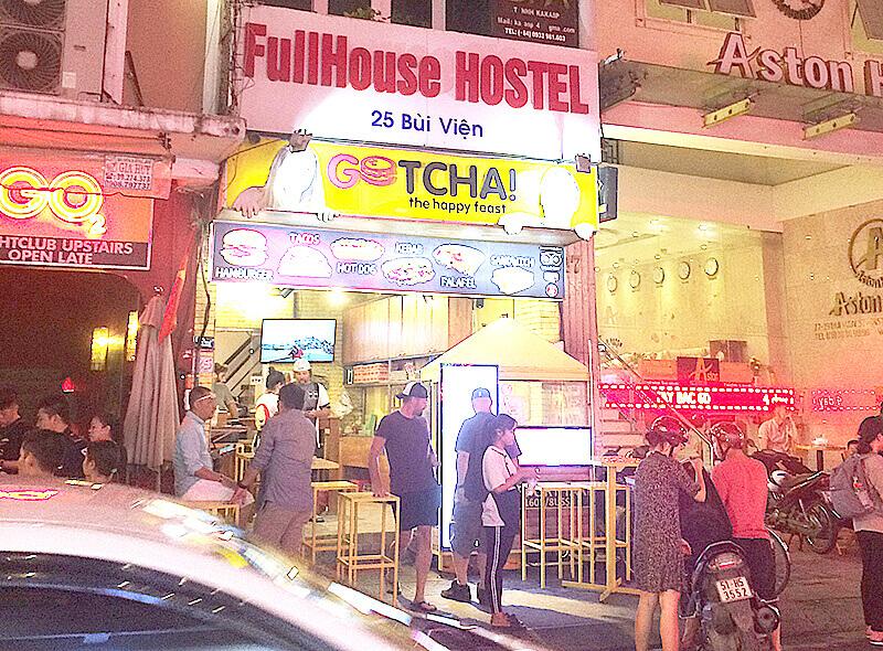 ブイビエン通りで美味しいハンバーガーとタコスが食べたいならGOTHA!に。