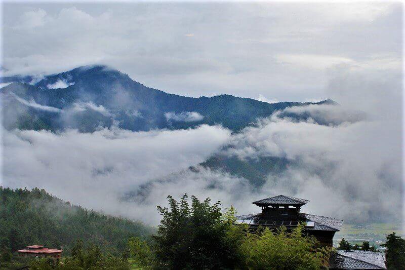 ブータンの首都ティンプー