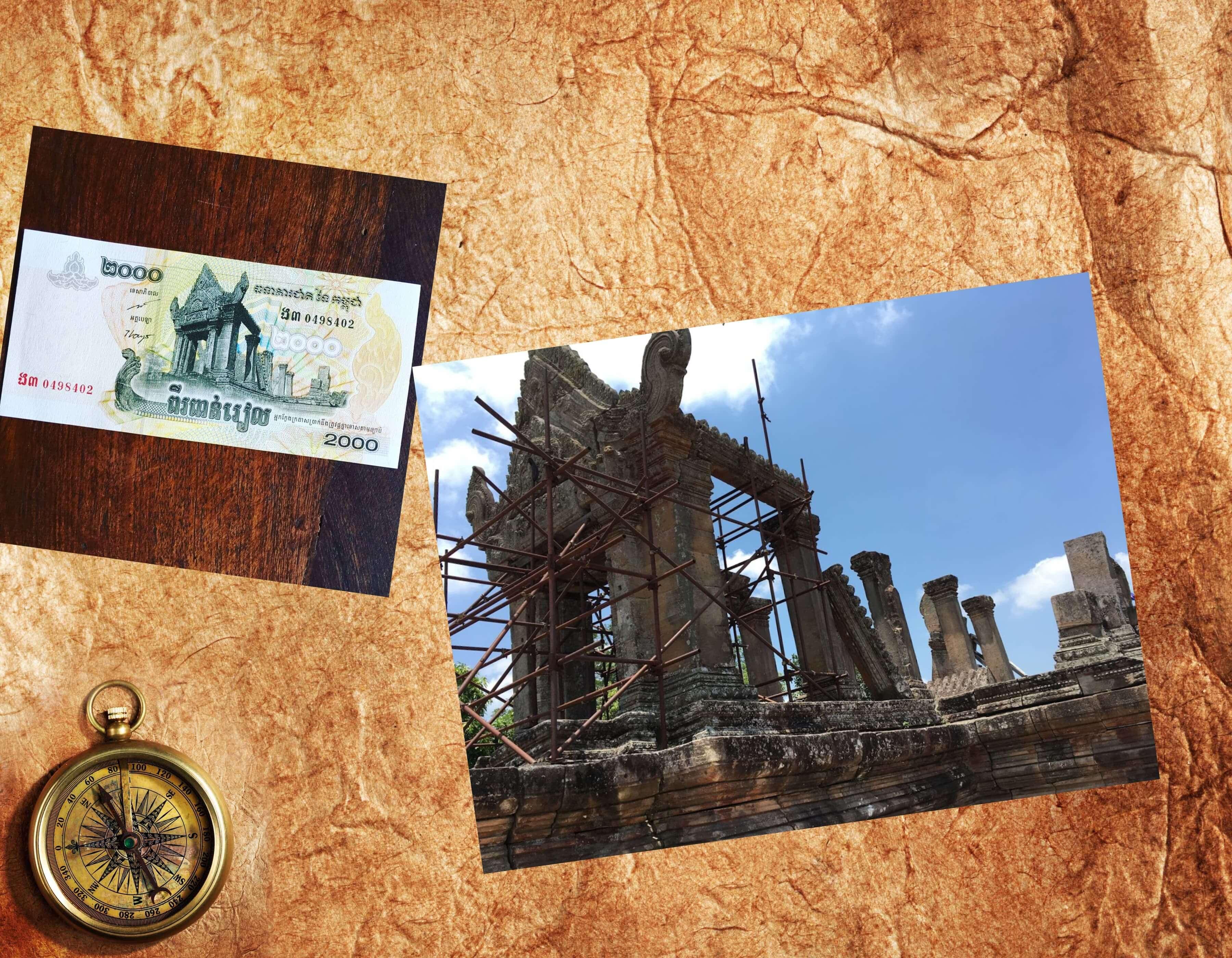 プレアヴィヒア第一塔門比較