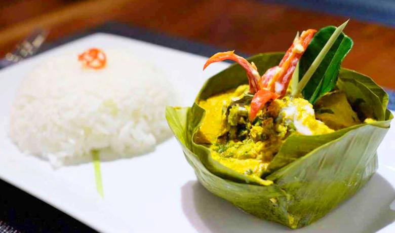 カンボジアを代表する料理アモック