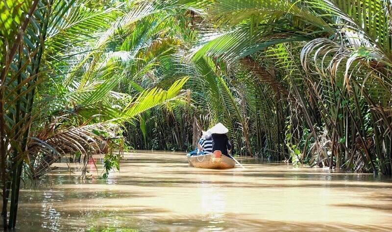 メコン川のジャングルクルーズ