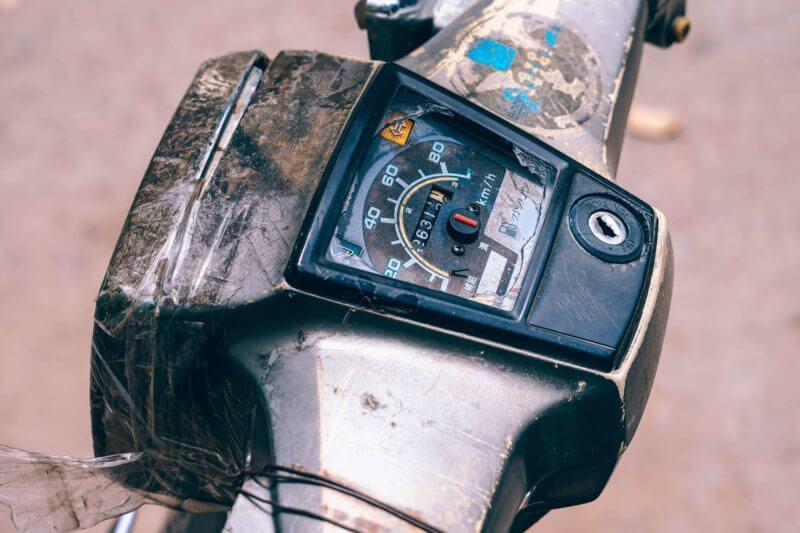カンボジア_レンタルバイク