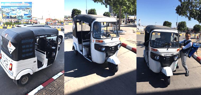 カンボジアタクシーアプリ(PassApp Taxi)の乗り方教えます!