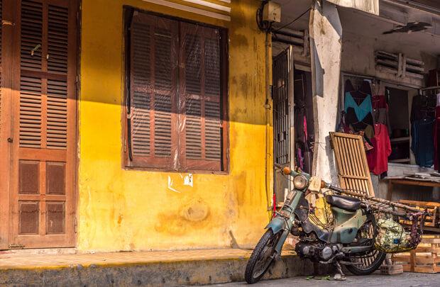 黄色い街ホイアン