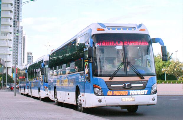 ホーチミンからフエのバス