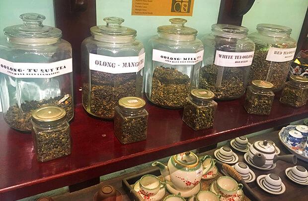 ベトナムはお茶も有名