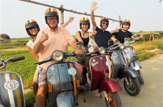 ダナンからフエのバイクツアー