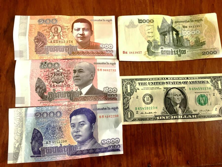 米ドルとリエル