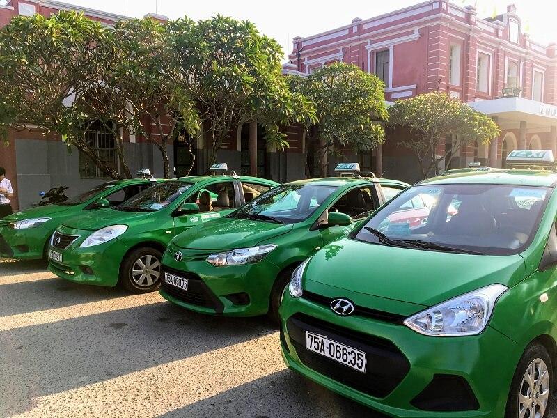 ベトナム中部のタクシーのチップ相場