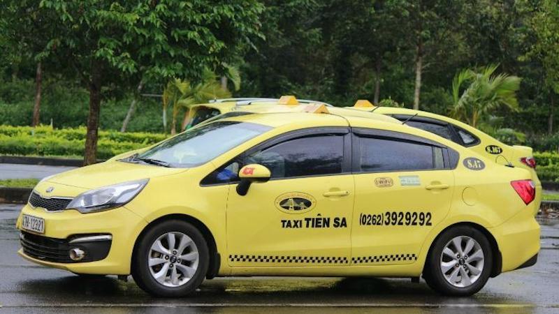 ダナン・ホイアンの安全タクシー ティエンサタクシー