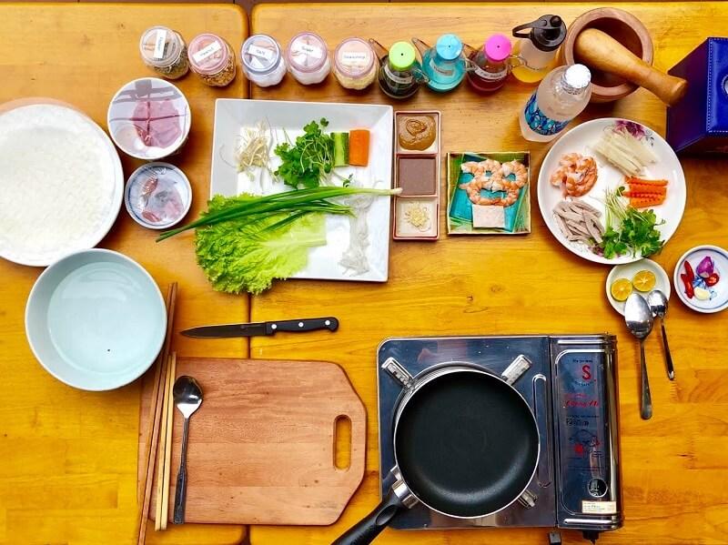 ホイアンの日本語料理教室 VIPクッキングクラス