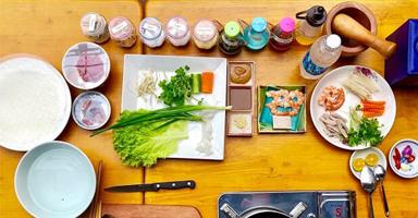 ホイアンの日本語料理教室 - VIPクッキングクラス