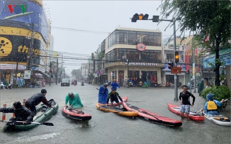 2018年12月のダナンの洪水