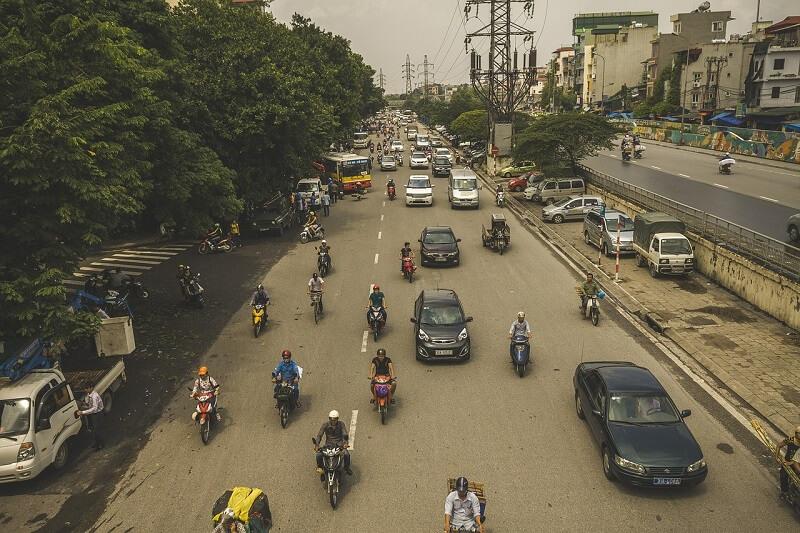 ベトナムの交通