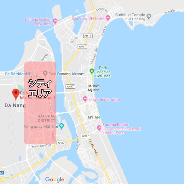 ダナンシティエリアマップ