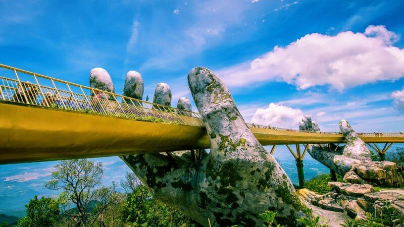 ゴールデンブリッジ - ダナンのおすすめ観光スポット