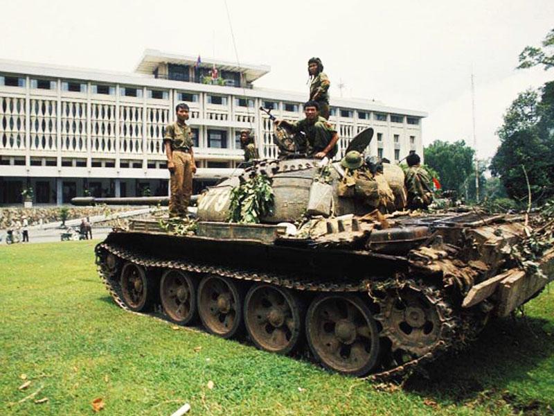 ベトナム戦争の当時の写真