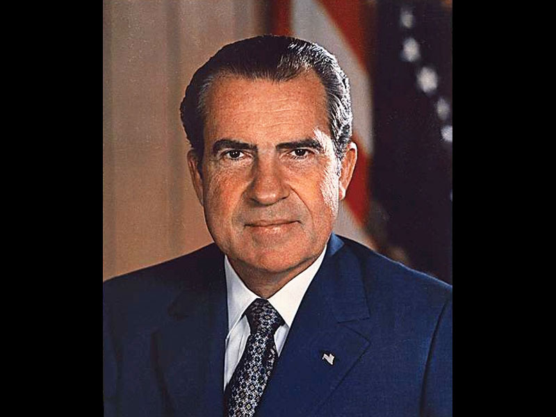 アメリカ大統領であるニクソン大統領