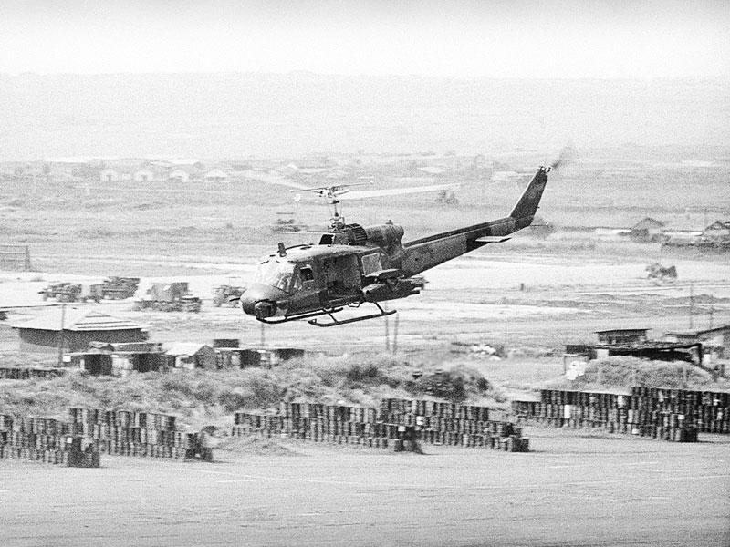 ベトナム戦争のアメリカ軍ヘリ