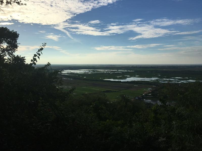 プノンクロムからの眺め