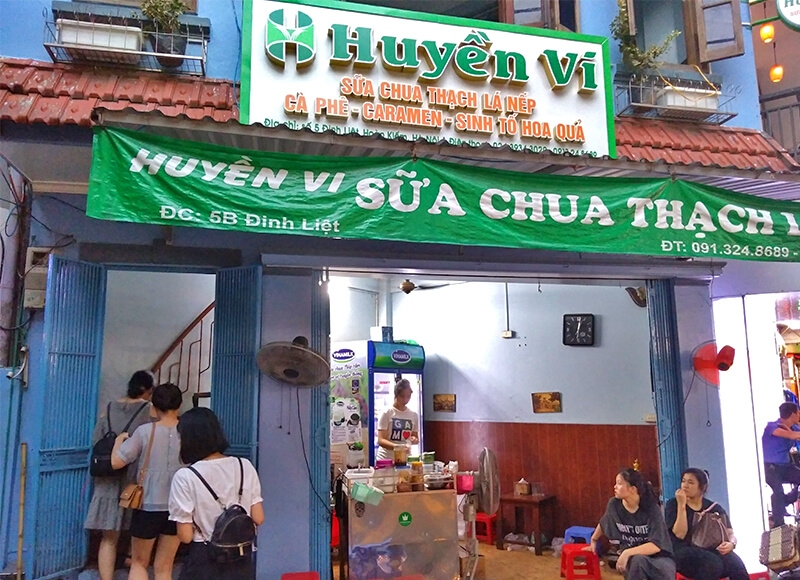 Hyuyen Vy Cafeの外観
