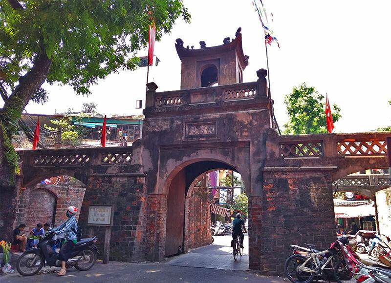 ハノイの東河門 - ハノイ旧市街の歴史と変遷、見どころ