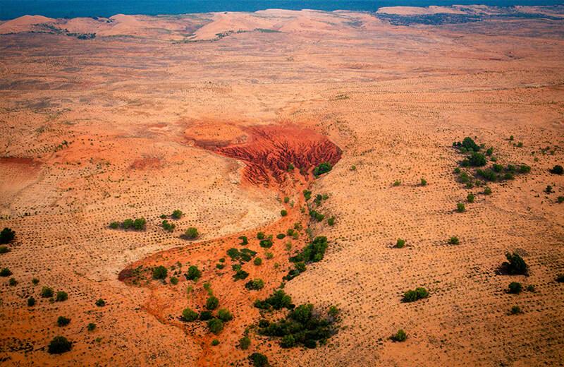砂丘の広さが伝わる - ムイネー観光気球ツアーレポ