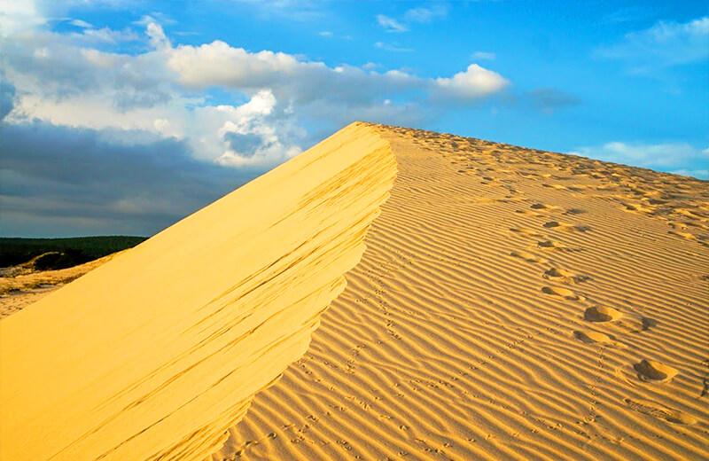 白の砂丘 - ムイネー観光気球ツアーレポ