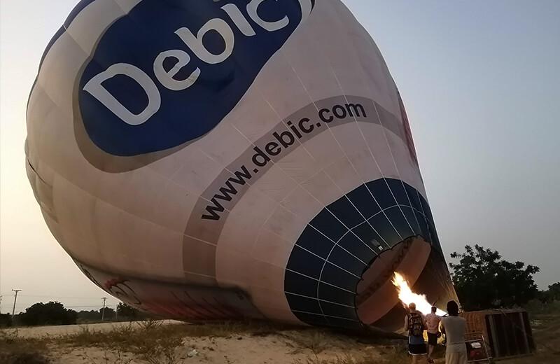 一気に目が覚める光景 - ムイネー観光気球ツアーレポ