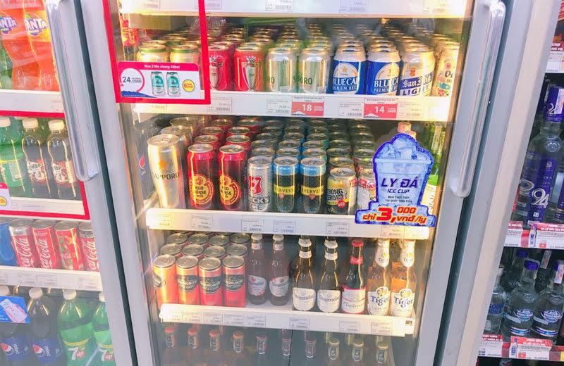 ベトナムといえばビールだが、できるだけ現地で楽しみたい。
